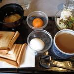 ルーブル - 料理写真:ホットサンドモーニング