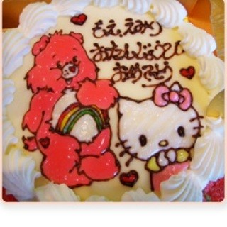 お子様に大人気!キャラクターケーキも承ります!