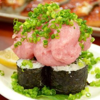 その名の通り「どでか」な寿司!