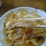 とんかつ太郎 - 肉は薄めで揚げたてではない^^;