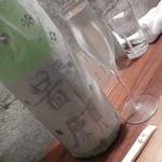 慶 - 鄙願 使用米 新潟県山北町産たかね錦50%精米  アルコール度 15度以上16度未満  容量1.8L