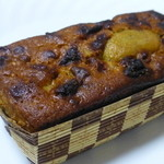 ケテル - ピスタチオの粉末と、ドライいちごが入れて、焼き上げられています。