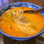 梨楽 - ランチの坦々麺