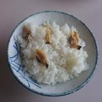 文佐食堂 - アサリご飯