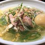 鶏そば(淡海地鶏)