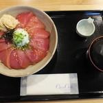 魚八 - まぐろ漬丼・大盛 税込¥780