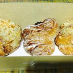 mister Donut - クロワッサンマフィン 3個セット ¥550
