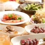串揚げ 串坊主 - ある日のサイド宴会コース。
