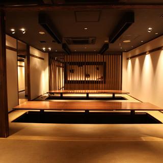 【ゆったり個室】各種ご宴会・デート・接待・法事等に最適◎