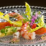 銀座うかい亭 - 季節の魚介のマリネ ※画像はイメージです