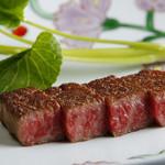銀座 うかい亭 - 料理写真:うかい特選牛ステーキ