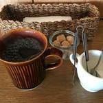 shohokamin - ランチタイムはコーヒーのサービス♪