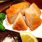 酒菜・からく - 海老しんじょうの蓮根挟み揚げ 880円