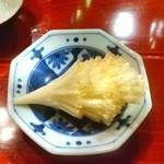 酒菜・からく - テットドモアンヌ(スイスのチーズ)日本酒にも合います。