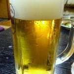 居酒屋 酒笑 - 生ビール