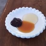 燻製ダイニング OJIJI - 蜂蜜・キャラメル・チョコのソース