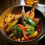 Soup Curry SAMURAI. -