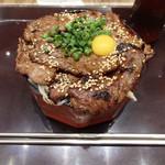 ポジャギ - 和牛特選カルビ重(990円)