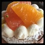 おかしのお店 コグマ - 柑橘のタルト♡  美味しい♡