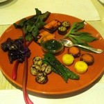 ガッタイオーラ ドルチ - 旬の国産焼き野菜のソットオーリオ
