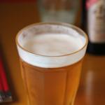 炭火焼き 華火 - 生ビール