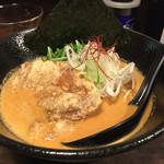 拉麺 黒ノ坊 - みそラーメン