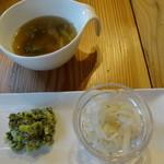 薬膳 LactoCafe(ラクトカフェ) - スープと前菜