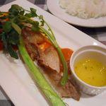 イルキャンティ・エスト - 豚バラ肉のサムギョプサル風~イタリアンスタイル~&ライス
