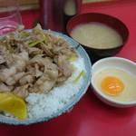 名物 スタ丼 サッポロラーメン -