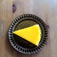 大和田カフェ - 無農薬レモンのニューヨークチーズケーキ