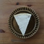 大和田カフェ - いちごとホワイトチョコのチーズケーキ