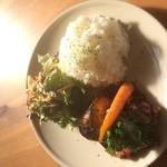大和田カフェ - お肉のプレート