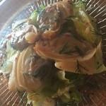 バレアリック飲食店 - 白貝と春キャベツのマリネ