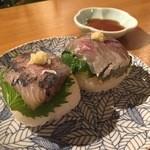 バレアリック飲食店 - 鯵の手まり寿司