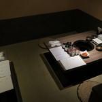 肉と日本酒 - 奥の小上り席