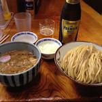 銀座 朧月 - 濃厚つけ麺 タマネギ増し