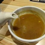 麺屋 つむぎ - つけ麺・スープ割り