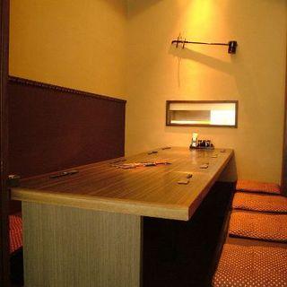 1組限定の完全個室ご用意しております。