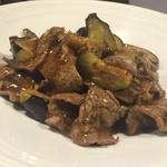 49531198 - 牛肉となすの炒め物