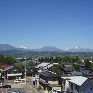 3階展望台「伯鵬閣」から小布施の町が見渡せます!