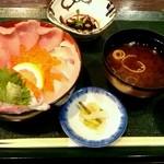 い川 - 海鮮丼950円税別