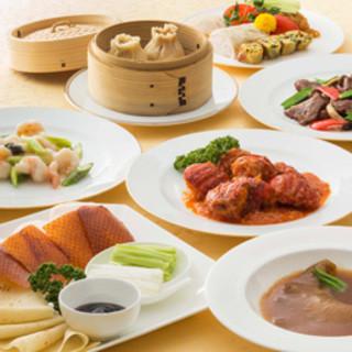 店の味をお得に味わえる、【中国料理「星ヶ岡】伝統のバイキング