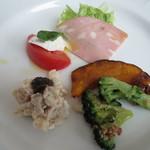 銀座 ポルトファーロ - 前菜5種盛り