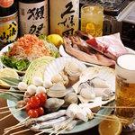浜焼太郎 - 料理写真:海鮮浜焼き33種食べ放題・飲み放題