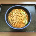 弁菜亭 - 中太柔らか蕎麦です。