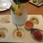JIMI - 蕪と淡色野菜のプレート