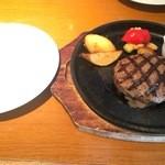 TERME - 国産牛の溶岩グリルハンバーグランチ 1598円