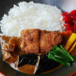 49536137 - 季節野菜の松阪豚カレー