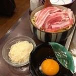 49536177 - 鹿児島産黒豚の富士焼き焼く前