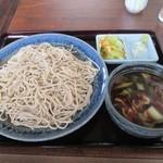 うどん 桂 - 肉汁そば 850円(大盛 消費税8%込)